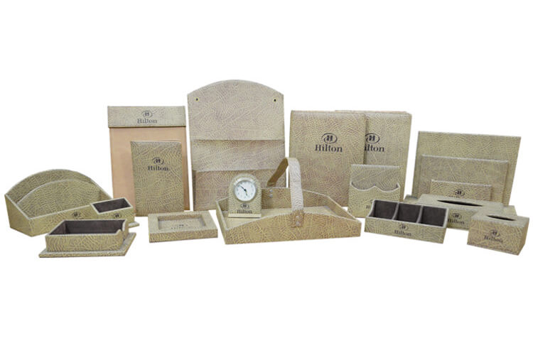 Hotel Guestroom Leather Set