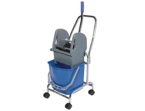 17L Mop Wringer Trolley