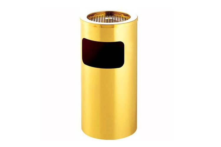 Ash Barrel in Titanium Gold