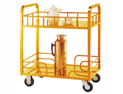 Catering Trolley in Gold