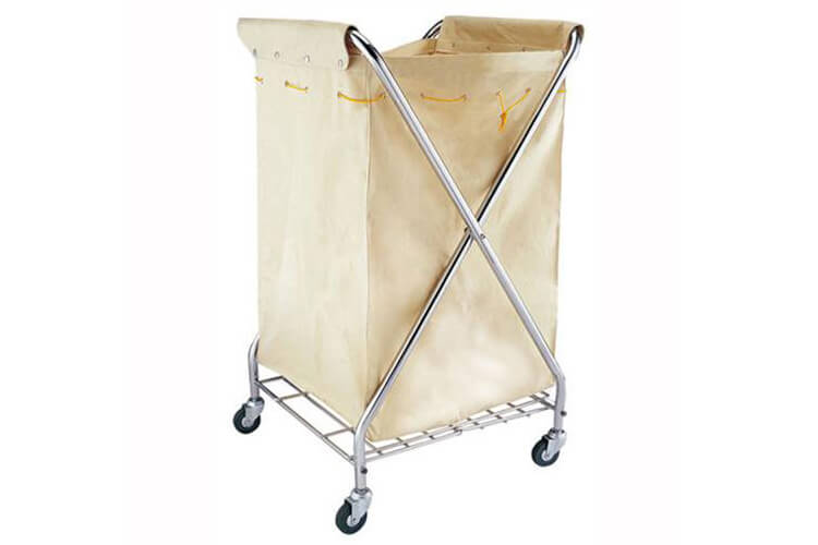 Linen Trolley Laundry Cart For Hotel
