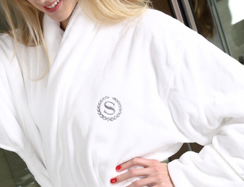 Hotel Bathrobe with Logo