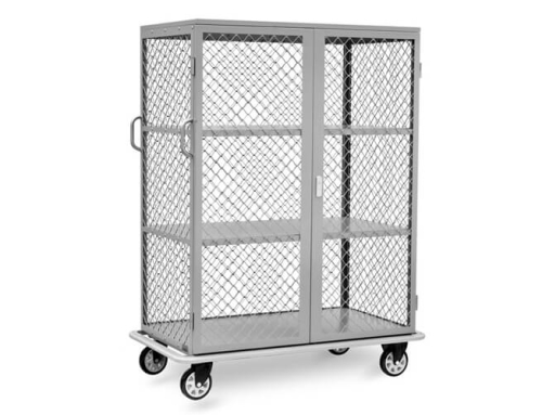 Linen Cart with Door