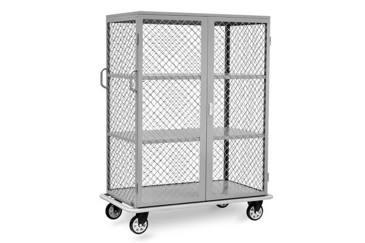 Linen Cart with Door
