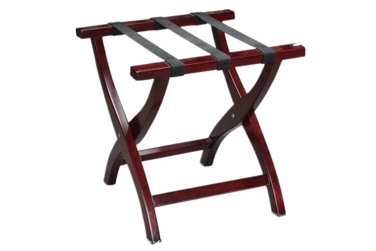 Luggage Rack, Wooden, Mahogany