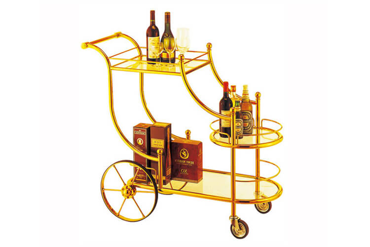 Luxury Wine Cart