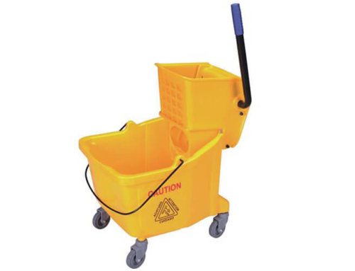 Yellow Mop Bucket 36L