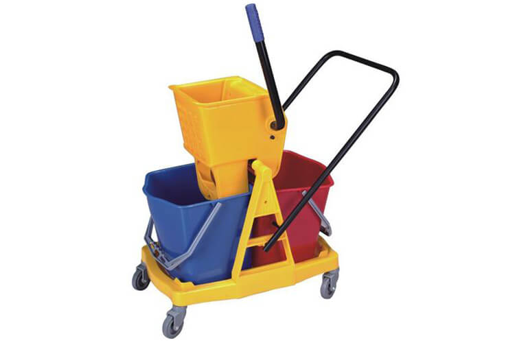 Mop Bucket with Wringer Trolley