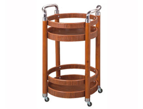 Round Liquor Trolley