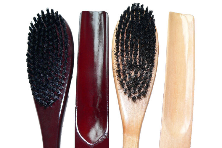 Shoe Horn and Clother Brush