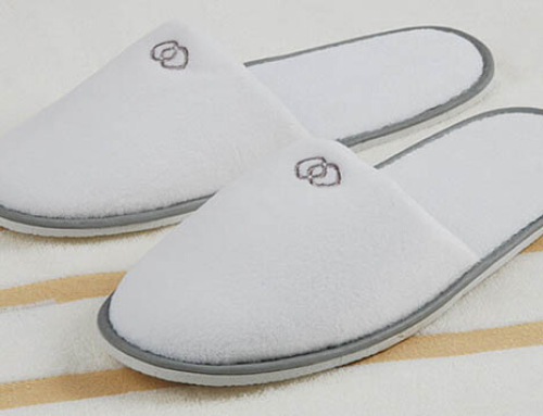Velour Hotel Slipper