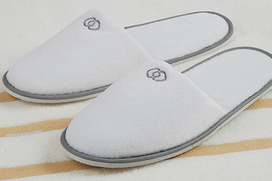 Velour Hotel Slipper for Sofitel