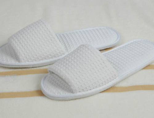 Waffle Slipper for Hotel