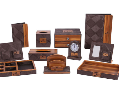 Marriott Hotel Leather Accessories