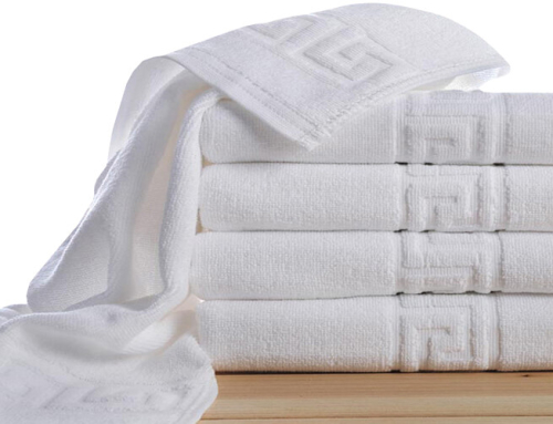 Wholesale White Hotel Towel