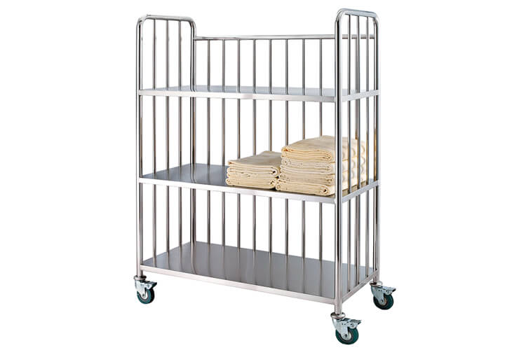 Steel Linen Cart For Towels Asia Hotel Supply